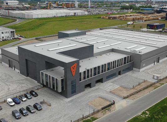 Nieuwbouw hoofdkantoor van der Sluis bedrijven