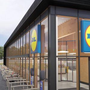 Supermarkt Lidl Almere